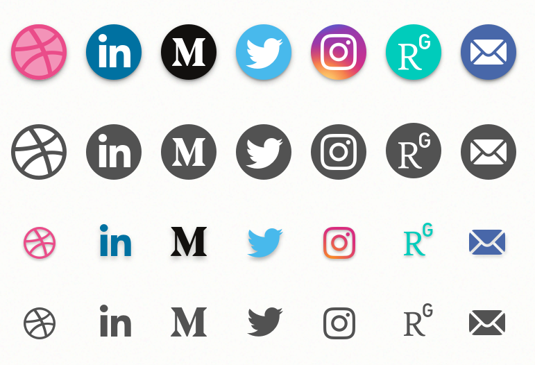 30+ Best Social Media Icon Sets For Free Download (Updated.