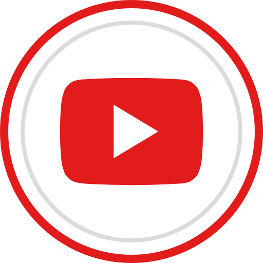 Play, youtube, social, media, logo, brand Icon Free of.