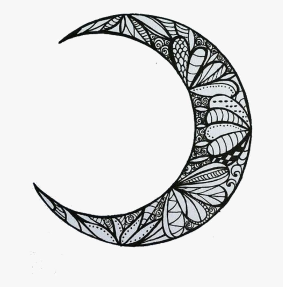 Mond Sticker.