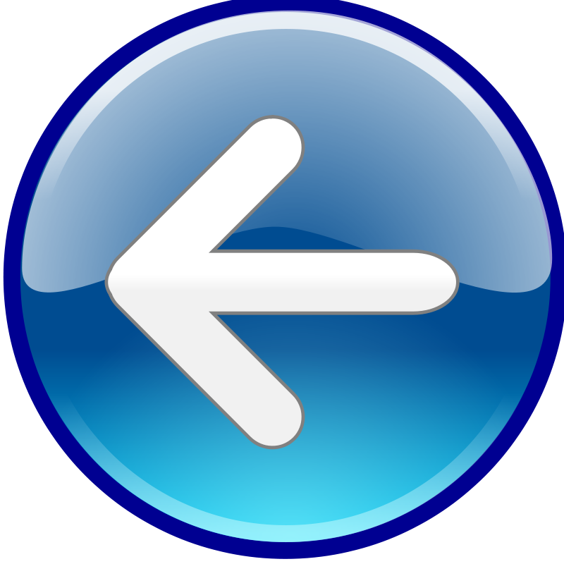 Free Clipart: Windows Media Player Back Button.