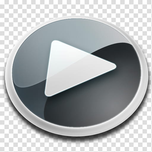 MediaPlayer Icon, medplay_blac, play button icon transparent.
