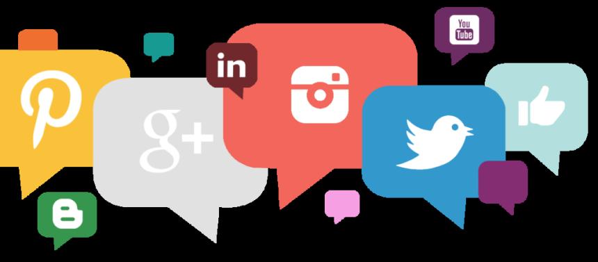 HQ Social Media PNG Transparent Social Media.PNG Images.
