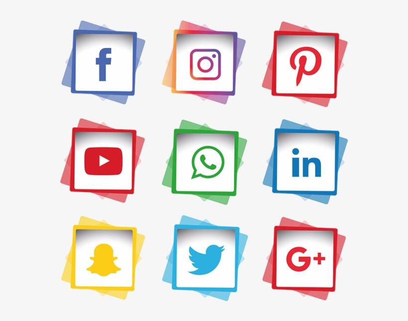 Social Media Icons Set, Social, Media, Icon Png And.