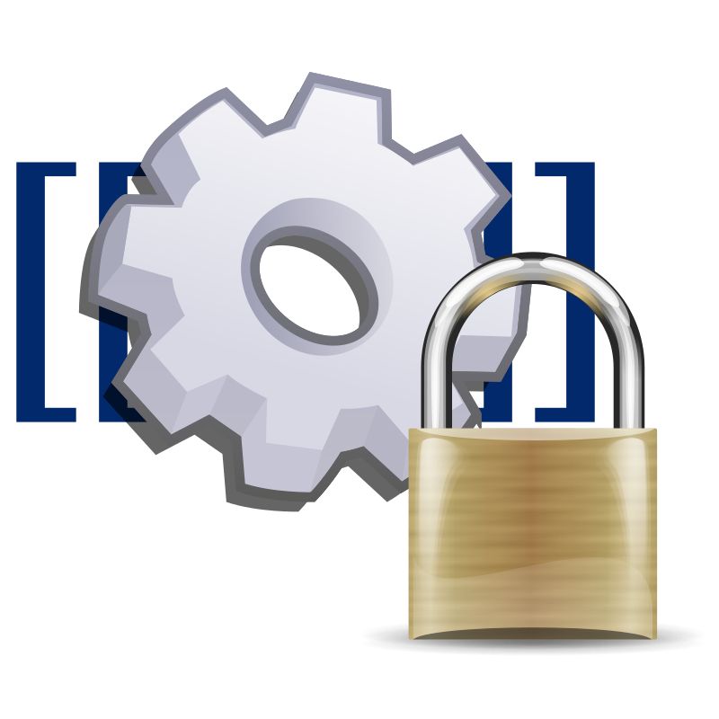 File:MediaWiki namespace locked.svg.