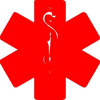 Real medic alert symbol ….