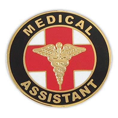 PinMart Medical Assistant MA Lapel Pin.