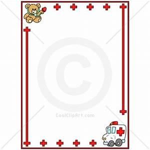 Medical Border Cliparts.