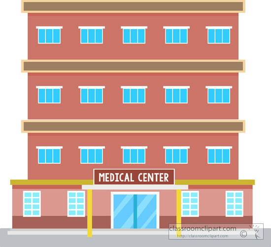 Medical center building clipart » Clipart Station.