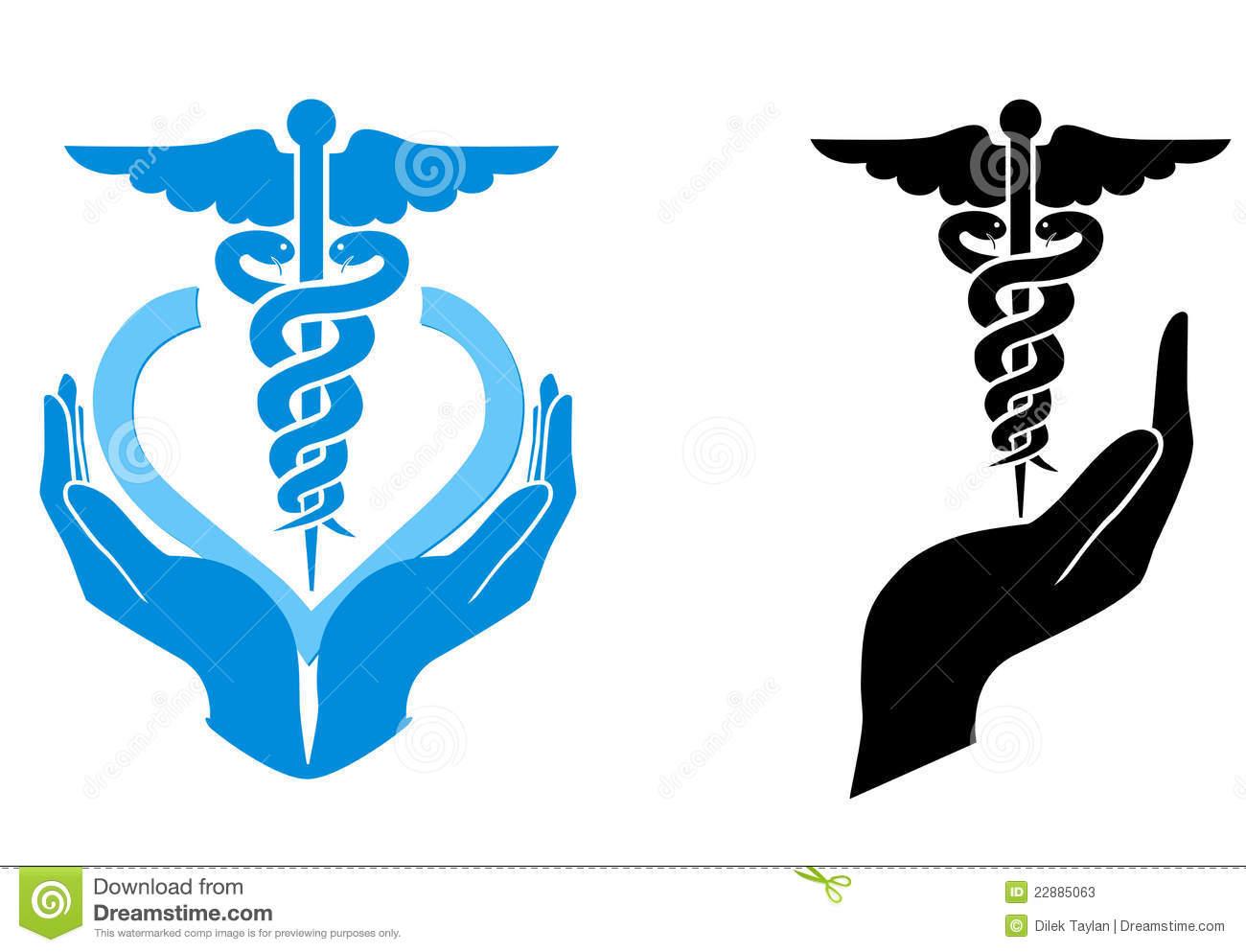 Medical Care Symbol Stock Photos.