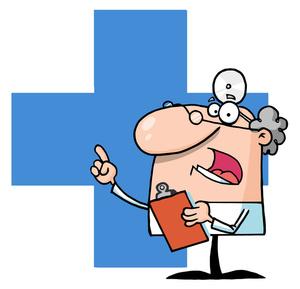 Medical Cartoon Cute Clipart.