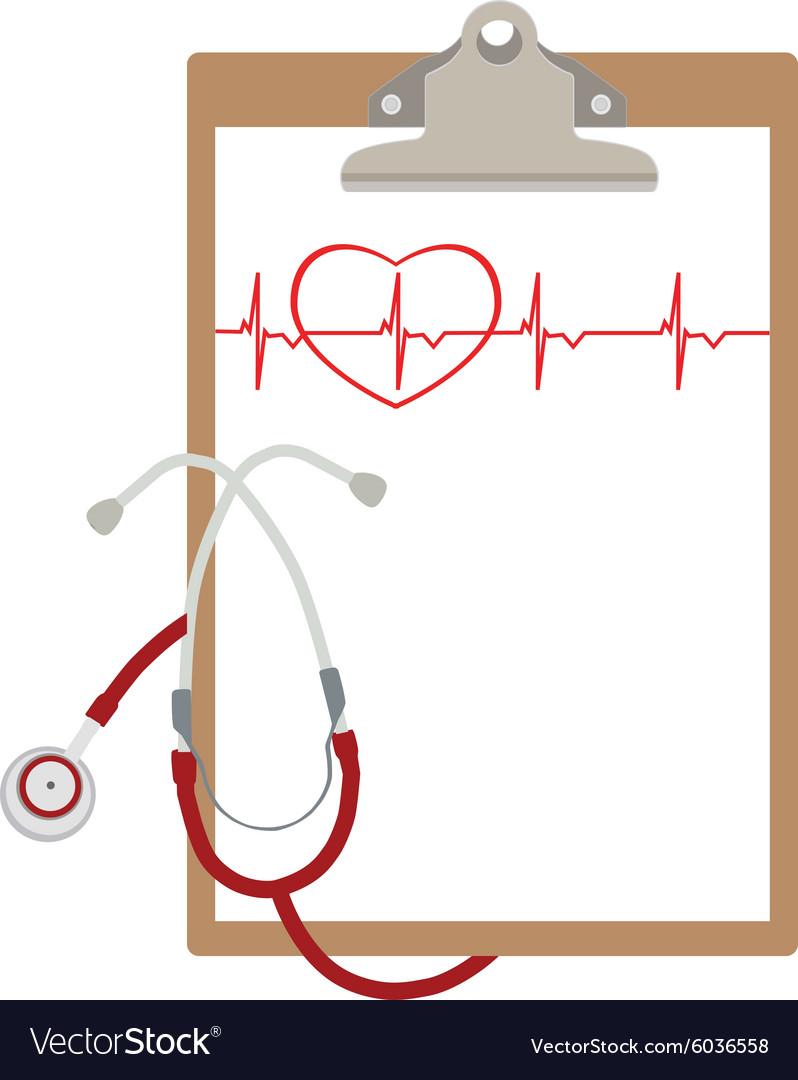 Medical clipboard.