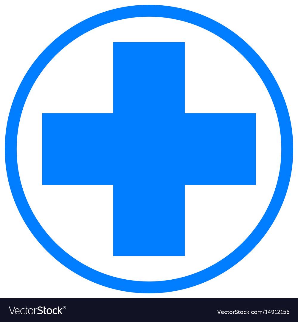 Medical cross health and medicine.