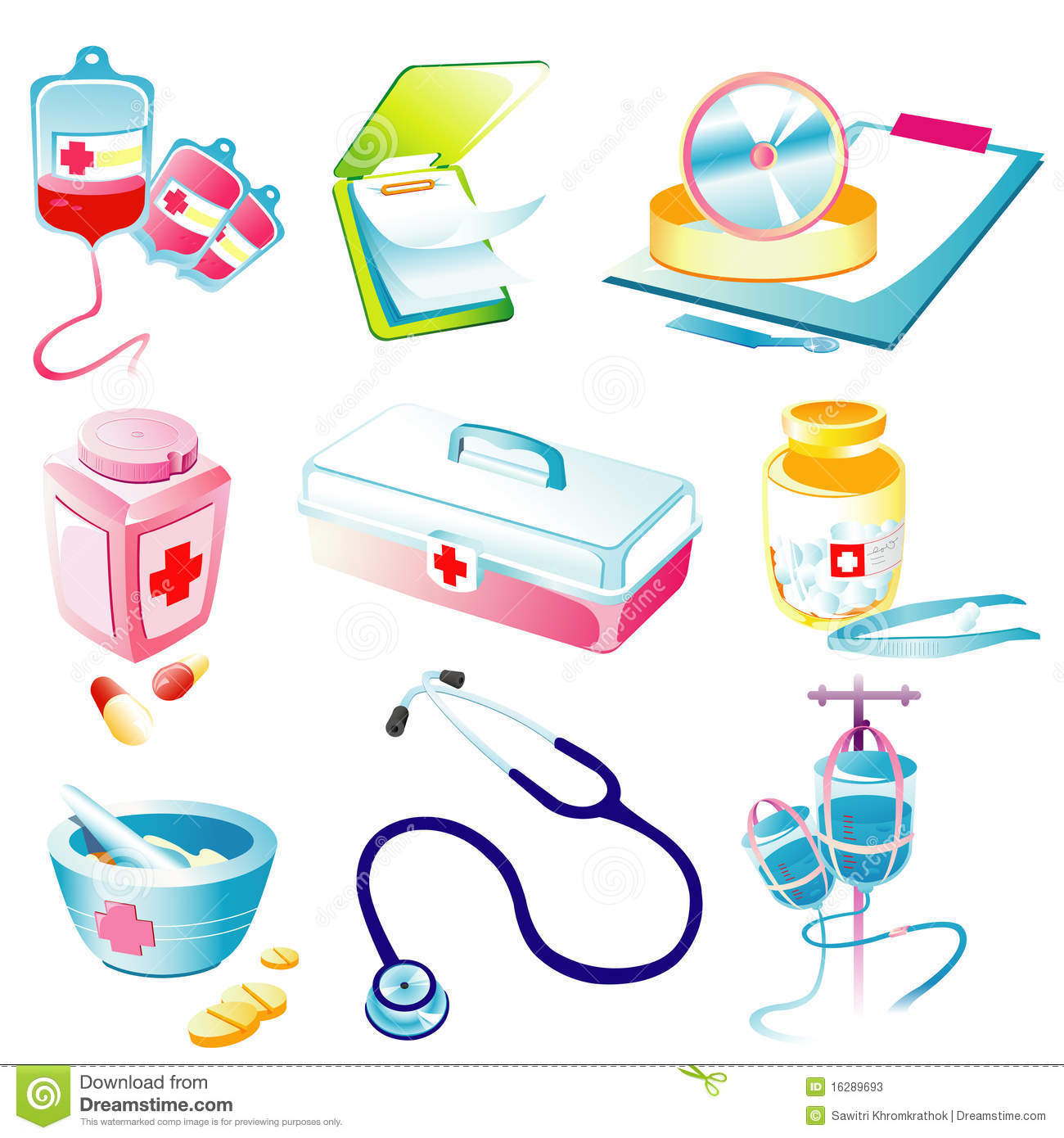Medical Device Icon Stock Illustrations.