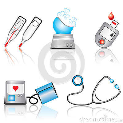 Medical device clipart.