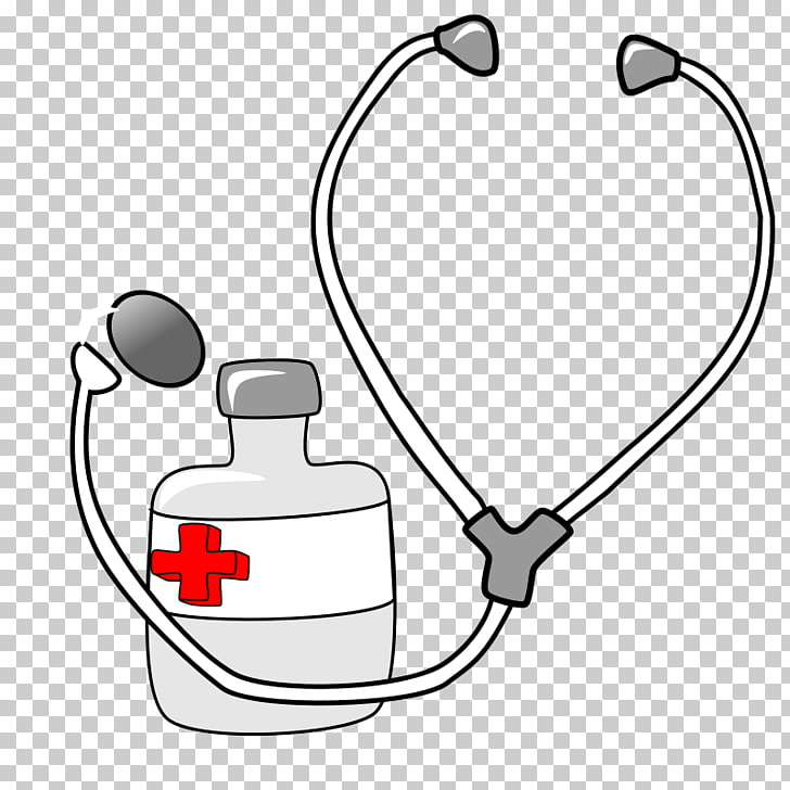 Stethoscope Medicine , Doctor\'s Kit s PNG clipart.