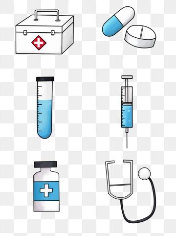 Medical Equipment PNG Images.