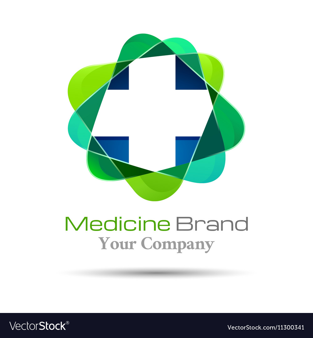 Medical pharmacy logo design Template for your.