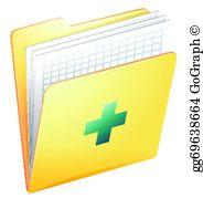 Medical Record Clip Art.
