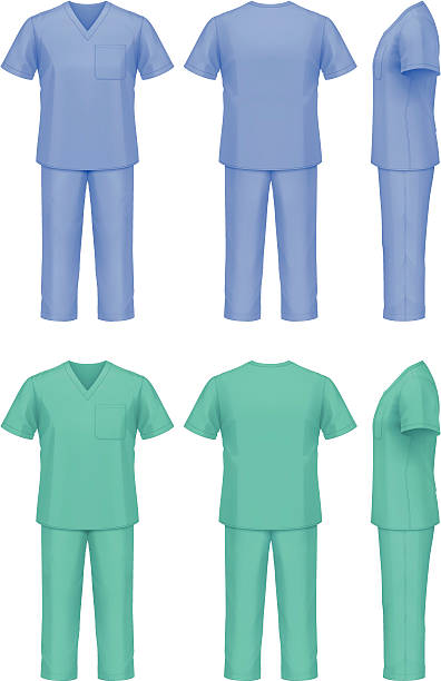 Best Medical Scrubs Illustrations, Royalty.