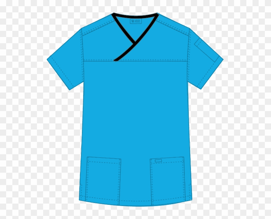 Mobb Medical Wear Criss Cross Scrub Top Png Scrub Shirt.
