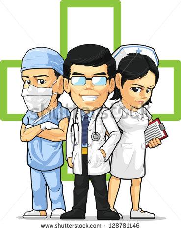 Hospital Staff Stock Vectors, Images & Vector Art.