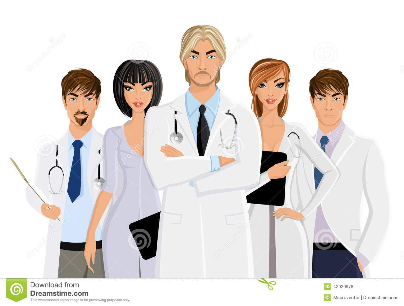 Showing post & media for Cartoon medical team clipart.
