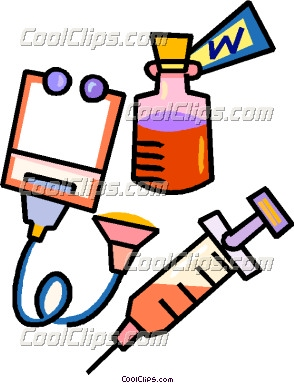 Medical Supplies Clip Art Borders.