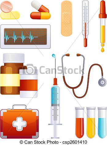 Medical Supplies Clip Art.