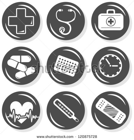 Medical And Time Clipart.