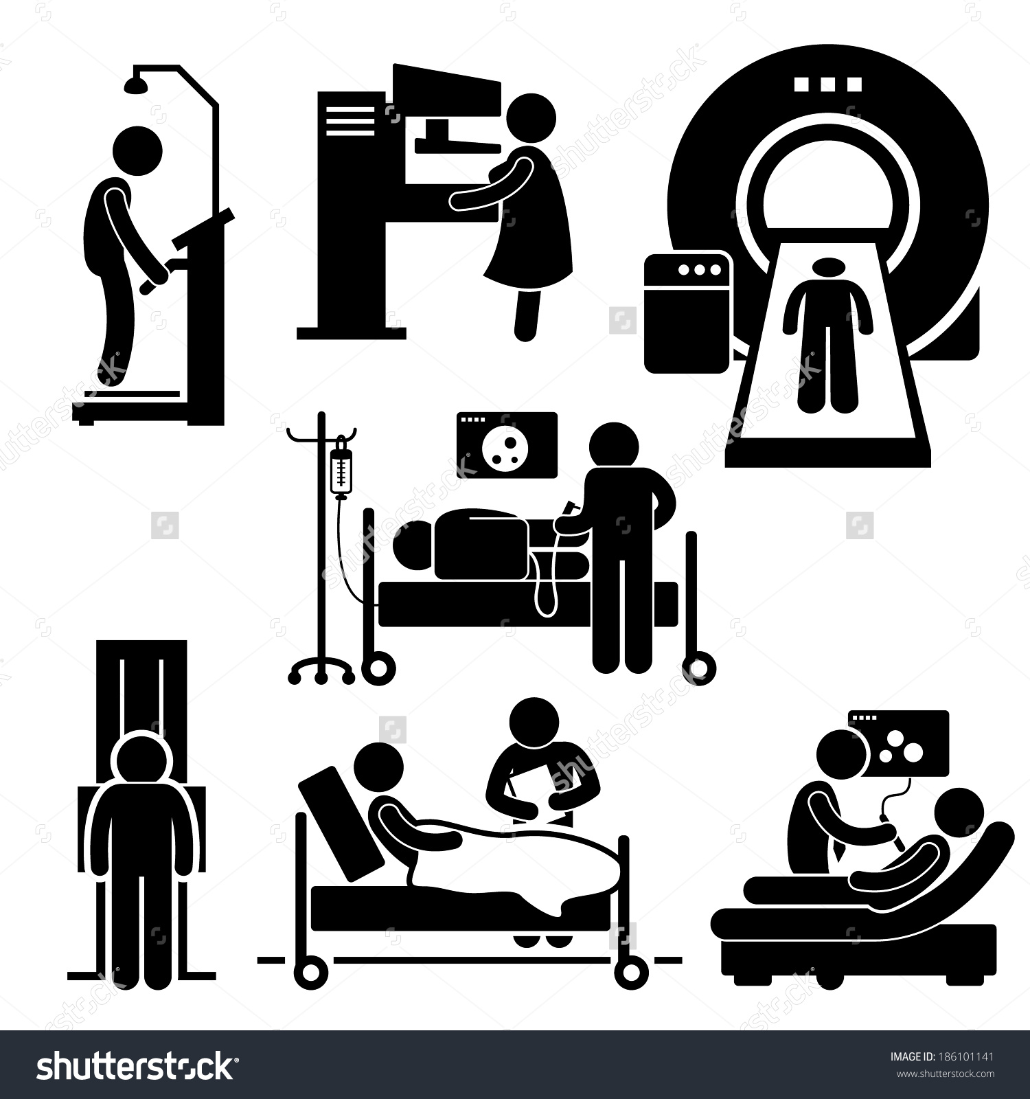 Medical Imaging Clipart.