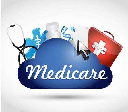 6,202 Medicare Stock Vector Illustration And Royalty Free.