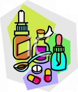 Medication Clip Art.
