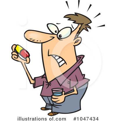 Administering Medication Clipart.