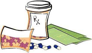 Medication List Clip Art.
