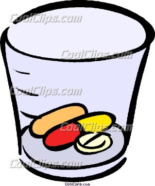 Clip Art Pills And Meds Clipart.