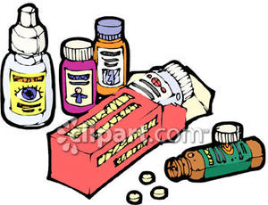 Pictures of medications clipart.