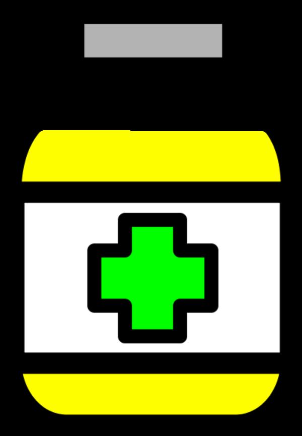 Clipart medicine bottle.