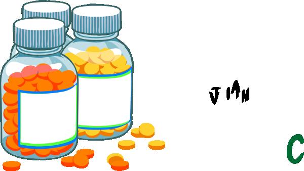 Take Medicine Clipart.