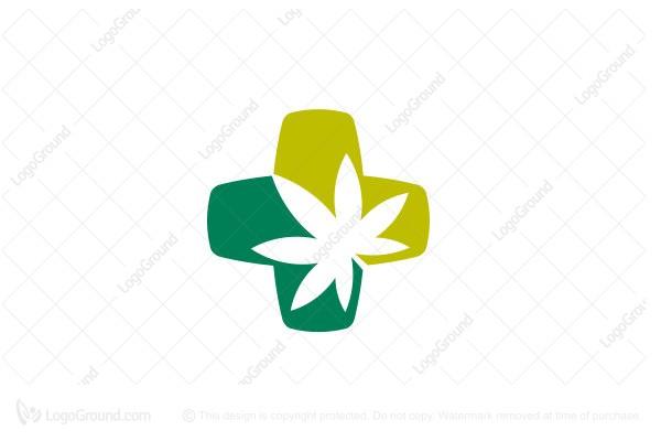 Exclusive Logo 96522, Medicinal Cannabis Logo.