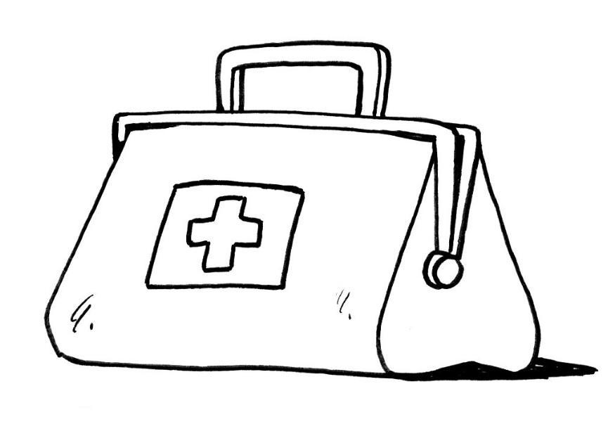 Cartoon Medicine Bag.