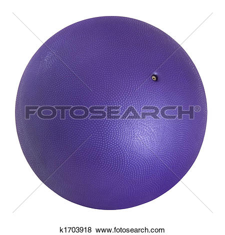 Pictures of purple medicine ball k1703918.