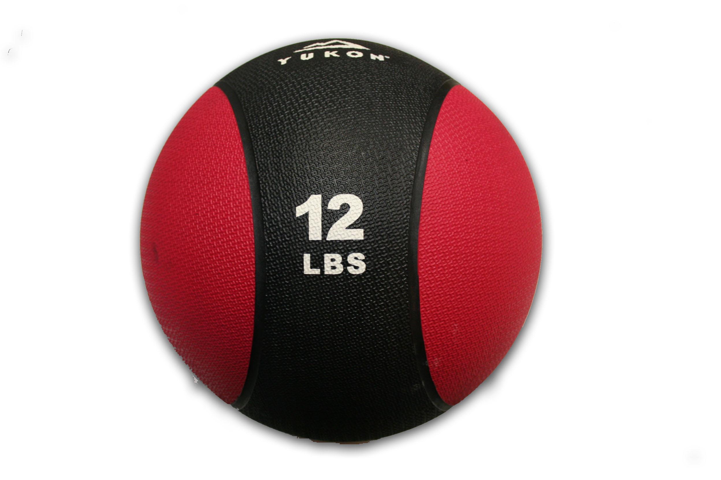 12 Pound Medicine Ball.