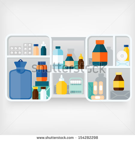 Medicine Cabinet Stock Photos, Royalty.