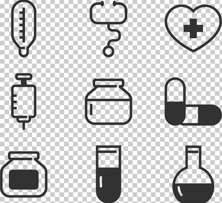 Medicine Icon PNG, Clipart, Area, Black And White, Brand.