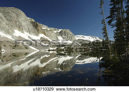 Stock Photograph of Medicine Bow National Forest, WY, Wyoming.