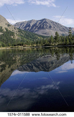 Pictures of Two Medicine Lake Glacier National Park Montana USA.