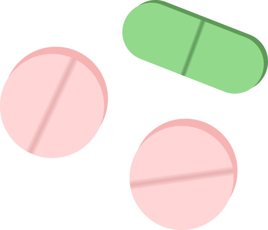 Oval,Tablet,Pharmaceutical Drug Clipart.