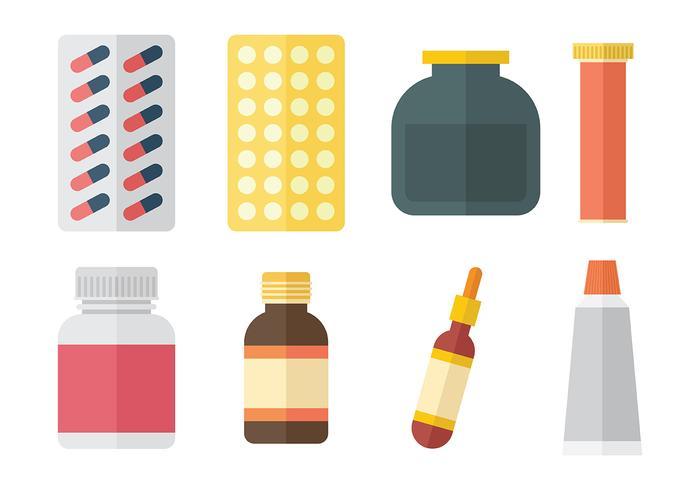 Medicine Vector Icons.