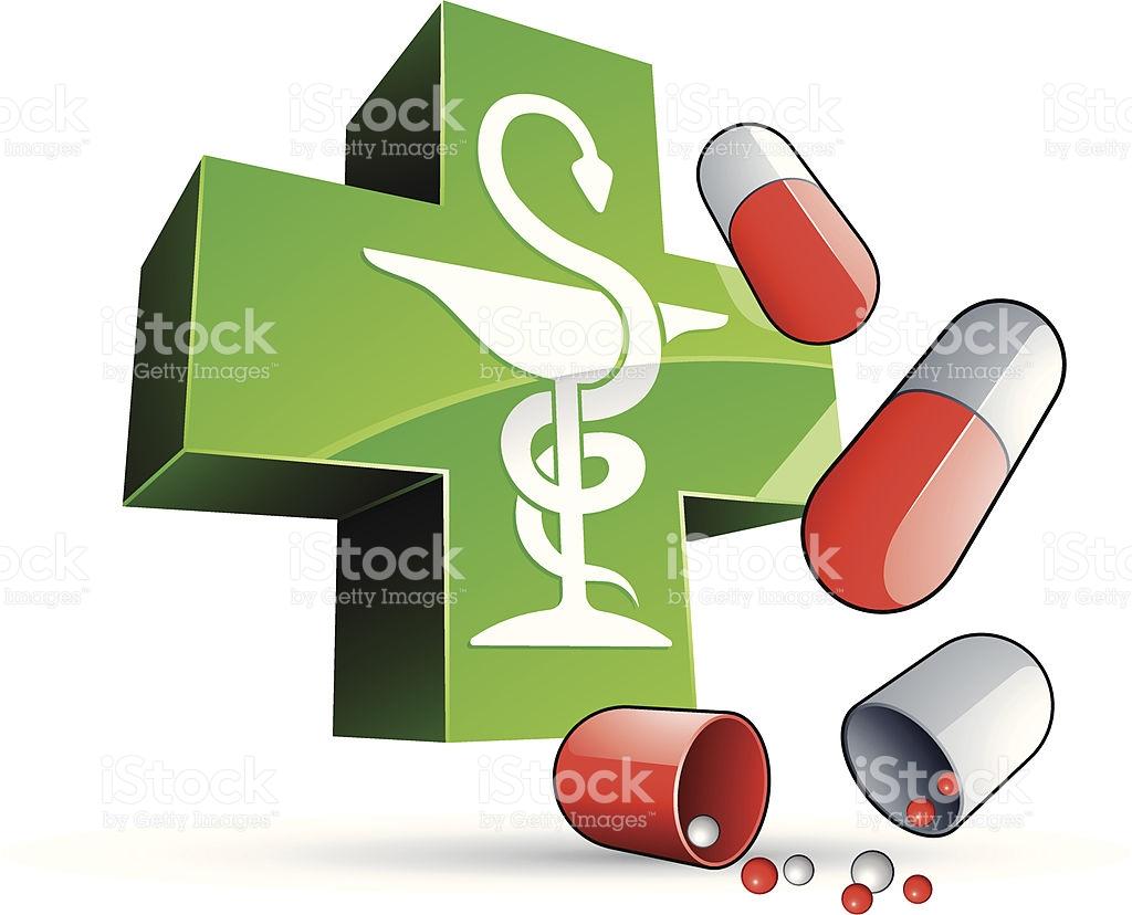Pharmacy Symbol And Medics stock vector art 93009224.