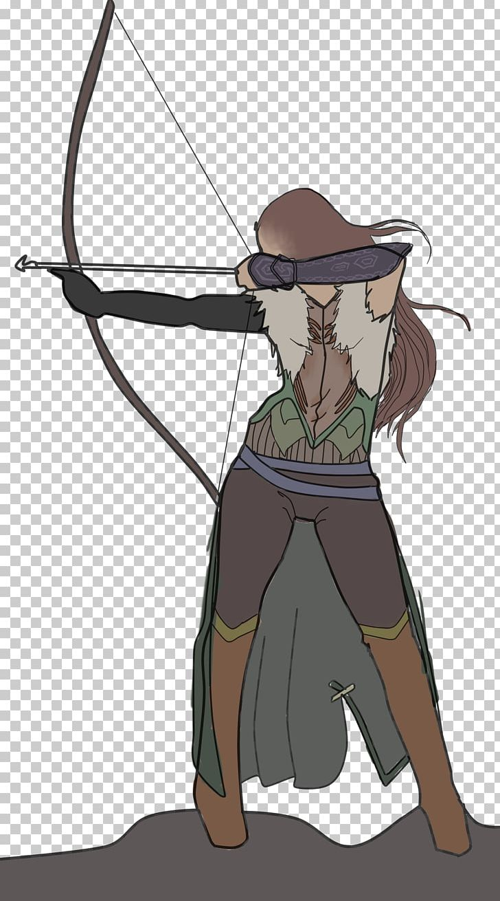 Archery Longbow Drawing The Medieval Archer PNG, Clipart.